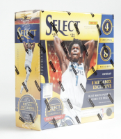 2020-21 Panini Select NBA Basketball Trading Cards Mega Box With (8) Packs at PristineAuction.com