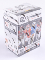 2021 Panini Chronicles Draft Picks Football Blaster Box with (4) Packs (See Description) at PristineAuction.com
