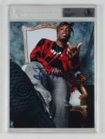 """Juice WRLD Signed 8x10 Photo Inscribed """"999"""" (BGS Encapsulated) at PristineAuction.com"""