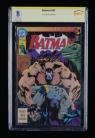 "Doug Moench Signed 1993 ""Batman"" Issue #497 DC Comic Book (CBCS Encapsulated) at PristineAuction.com"