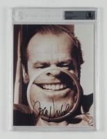 Jack Nicholson Signed 8x10 Photo (BGS Encapsulated) at PristineAuction.com