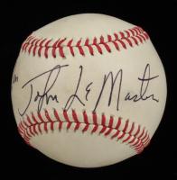 Johnnie LeMaster Signed OML Baseball (Beckett COA) at PristineAuction.com