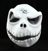 "Chris Sarandon Signed Jack Skellington ""The Nightmare Before Christmas"" Mask Inscribed ""Jack"" (Beckett COA) at PristineAuction.com"