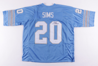 Billy Sims Signed Jersey (JSA COA) (See Description) at PristineAuction.com
