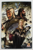 """2013 """"Vikings"""" Zenescope Comic Book Signed by (6) with Travis Fimmel, Clive Stranden, Gustaf Skarsgard, George Blagden Inscribed """"Best Wishes"""" (Beckett LOA) at PristineAuction.com"""