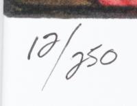 "Anthony Douglas Signed ""Ninja Turtles"" LE 16x20 Custom Matted Print (PA LOA) at PristineAuction.com"
