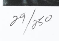 "Anthony Douglas Signed ""Grogu"" LE 16x20 Custom Matted Print (PA LOA) at PristineAuction.com"