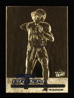 Tom Brady 2000 Fleer 23kt Gold Card RC at PristineAuction.com