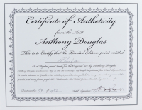 "Anthony Douglas Signed ""Mamba"" LE 16x20 Custom Matted Print (PA LOA) at PristineAuction.com"