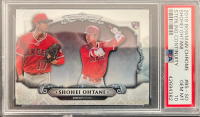 Shohei Ohtani 2018 Bowman Chrome Sterling Continuity #BSSO RC (PSA 10) at PristineAuction.com