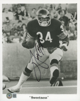 Walter Payton Signed Bears 8x10 Photo (Beckett LOA) (See Description) at PristineAuction.com
