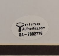 Muhammad Ali Signed 26x27 Custom Framed Photo Display (Mounted Memories Hologram & Online Authentics Hologram) (See Description) at PristineAuction.com