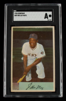 Willie Mays 1954 Bowman #89 (SGC Authentic) at PristineAuction.com