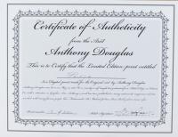 "Anthony Douglas Signed ""Prince"" LE 19x23 Custom Framed Print Display (PA LOA) at PristineAuction.com"