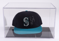 Ken Griffey Jr. Signed Mariners Hat With Display Case (Beckett COA) at PristineAuction.com
