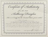 "Anthony Douglas Signed ""The Duke"" LE 19x23 Custom Framed Print Display (PA LOA) (See Description) at PristineAuction.com"