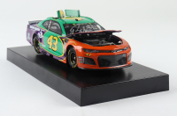 """Darrell """"Bubba"""" Wallace Jr. Signed LE #43 Victory Junction Darlington Color Chrome 2019 Camaro ZL1 1:24 Action Die Cast Car (Beckett COA) at PristineAuction.com"""