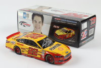 Joey Logano Signed LE #22 Shell 2013 Fusion 1:24 Action Die Cast Car (Beckett COA) at PristineAuction.com