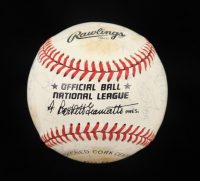 1988 Pirates ONL Baseball Team-Signed by (32) with Bobby Bonilla, Doug Drabek, Sid Bream, Rick Reuschel (Beckett LOA) at PristineAuction.com
