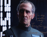 """Guy Henry Signed """"Rogue One"""" 11x14 Photo Inscribed """"You May Fire When Ready!"""" & """"Governor Tarkin"""" (Beckett COA) at PristineAuction.com"""