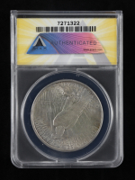 1928-S Peace Silver Dollar (ANACS AU 50 Details) (Cleaned) at PristineAuction.com