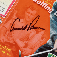 Arnold Palmer Signed Wheaties Cereal Box (PSA COA) at PristineAuction.com