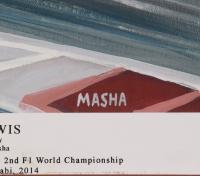 "Lewis Hamilton Signed LE ""Lewis"" by Masha 14x21 Lithograph (JSA LOA) at PristineAuction.com"