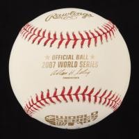 Clay Buchholz Signed 2007 World Series Baseball (Your Sports Memorabilia Store COA) (See Description) at PristineAuction.com