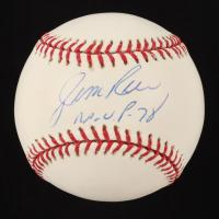 "Jim Rice Signed OML Baseball Inscribed ""M.V.P. 78"" (YSMS COA) at PristineAuction.com"