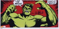"Mark Ruffalo Signed ""The Hulk"" 11x22 Poster (JSA COA) at PristineAuction.com"