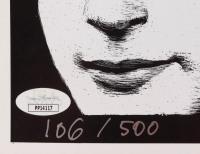 "Klaus Voormann Signed LE ""Hamburg 60-61-62"" 16.5x17 Black & White Print (JSA COA) at PristineAuction.com"