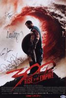 """300: Rise of an Empire"" 12x18 Movie Poster Signed by (4) with Eva Green, Sullivan Stapleton, Rodrigo Santoro & Noam Murro (Beckett LOA) at PristineAuction.com"