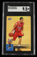 Stephen Curry 2009-10 Upper Deck #234 SP RC (SGC 9.5) at PristineAuction.com