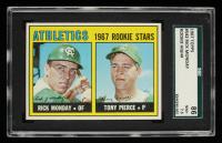Rick Monday & Tony Pierce 1967 Topps #542 Rookie Stars RC (SGC 7.5) at PristineAuction.com