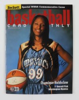 """Chamique Holdsclaw Signed 1999 """"Beckett Basketball Card Monthly"""" Magazine (Beckett COA) (See Description) at PristineAuction.com"""