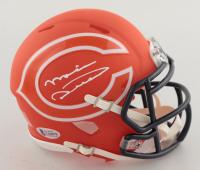 Mike Ditka Signed Bears AMP Alternate Speed Mini Helmet (Beckett COA) at PristineAuction.com