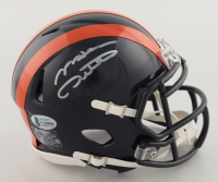 Mike Ditka Signed Bears Throwback Speed Mini Helmet (Beckett COA) at PristineAuction.com