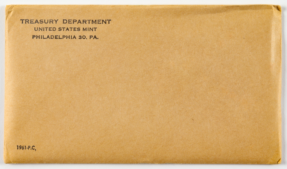 1961 United States Special Mint Set Envelope at PristineAuction.com