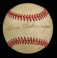Charlie Gehringer Signed OAL Baseball (Beckett COA) at PristineAuction.com