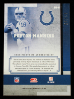 Peyton Manning 2007 Leaf Limited Banner Season Autograph Materials Prime #8 #11/15 at PristineAuction.com