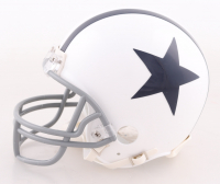 """Danny White Signed Cowboys Throwback Mini Helmet Inscribed """"SB XII Champs"""" (JSA COA) at PristineAuction.com"""