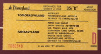 "Disneyland ""Mr. Toad's Wild Ride"" 16x27 Custom Framed Print Display with Vintage Disneyland Ticket & Pin at PristineAuction.com"