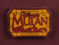 "Thomas Kinkade ""Mulan"" 16x16 Custom Framed Print Display With Movie Pin at PristineAuction.com"