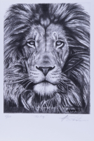 "Anthony Douglas Signed ""The King"" LE 12x18 Art Print (PA LOA) at PristineAuction.com"