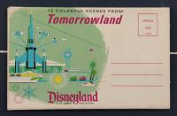Vintage Disneyland Space Mountain 16x27 Custom Framed Print Display with Vintage Disneyland Photo Portfolio & FedEx Sponsor Pin at PristineAuction.com