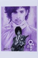 "Anthony Douglas Signed ""Prince"" LE 12x18 Art Print (PA LOA) at PristineAuction.com"