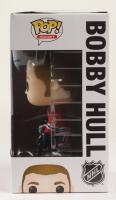 "Bobby Hull Signed Blackhawks #66 Hockey Funko Pop! Vinyl Figure Inscribed ""HOF 1983"" (Hull COA) (See Description) at PristineAuction.com"