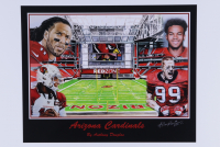 "Anthony Douglas Signed ""Arizona Cardinals"" LE 12x18 Art Print (PA LOA) at PristineAuction.com"