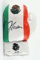Julio Cesar Chavez Signed Vintage Mexico Boxing Glove (PSA COA) (See Description) at PristineAuction.com