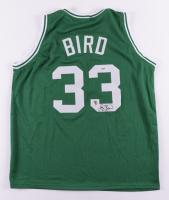 Larry Bird Signed Jersey (PSA COA & Bird Hologram) (See Description) at PristineAuction.com